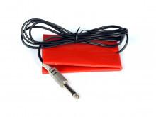 Педаль для работы с Блоком Питания (разъем 6.35 mm) красная
