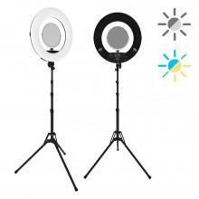 Кольцевая лампа ringO Bi color (black)